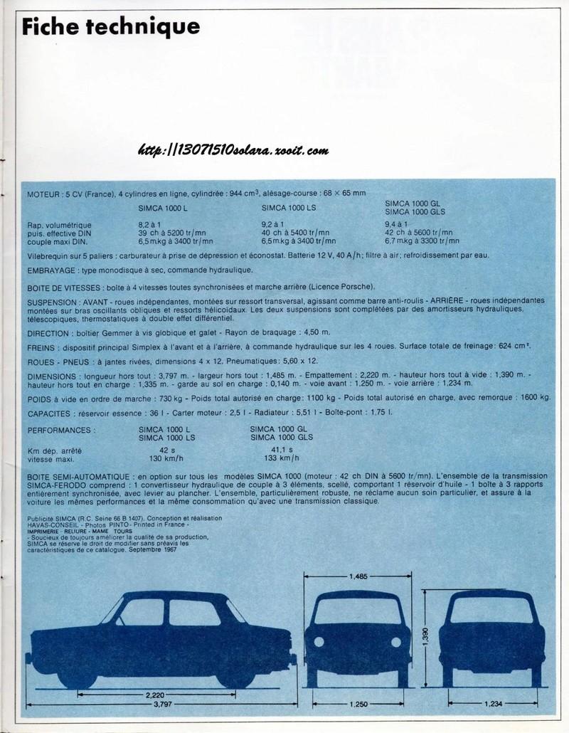 CATALOGO SIMCA 1000 EN FRANCES  Img34010