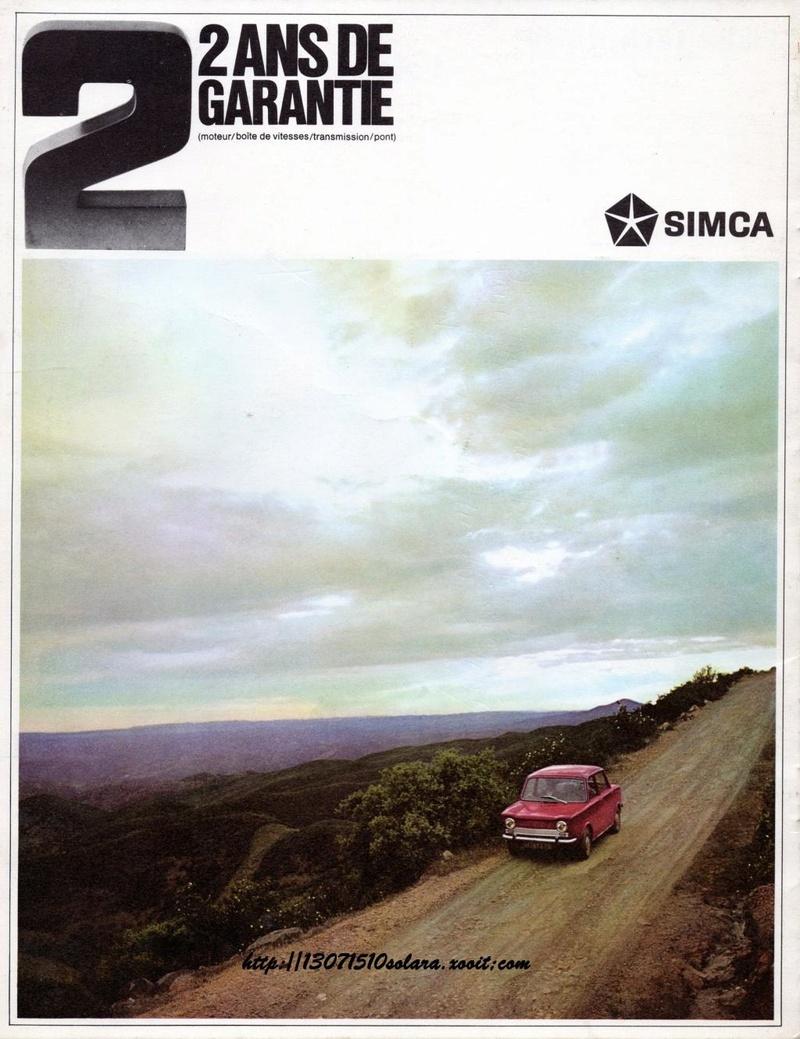 CATALOGO SIMCA 1000 EN FRANCES  Img34110