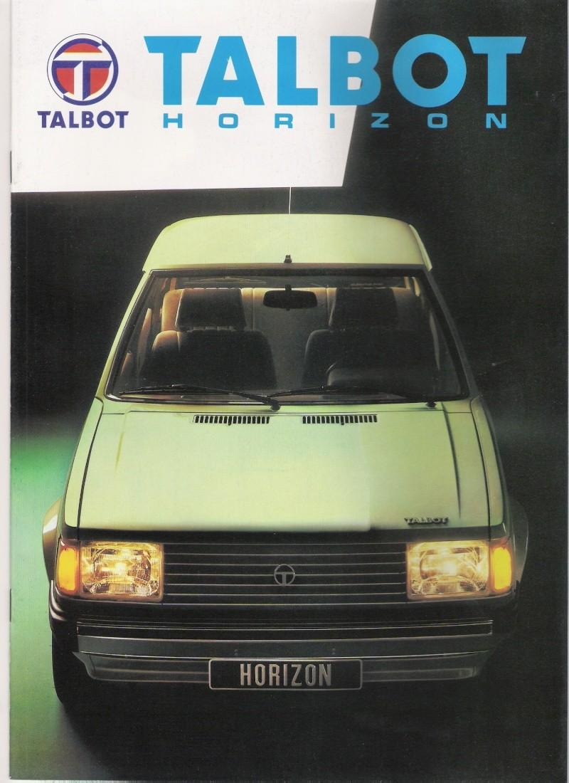 CATALOGO TALBOT HORIZON FRANCES  Numari10