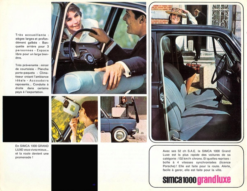 CATALAGO SIMCA 1000 FRANCES AÑO 1963 Simca_13