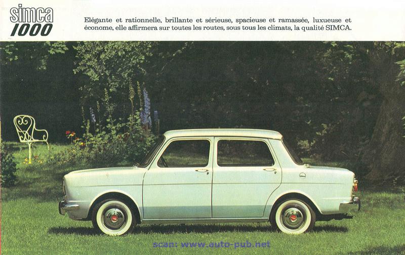CATALOGO PRIMERO SIMCA 1000 AÑO 1962 EN FRANCES  Simca_42