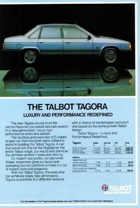 ANUNCIOS TALBOT TAGORA Tagora10