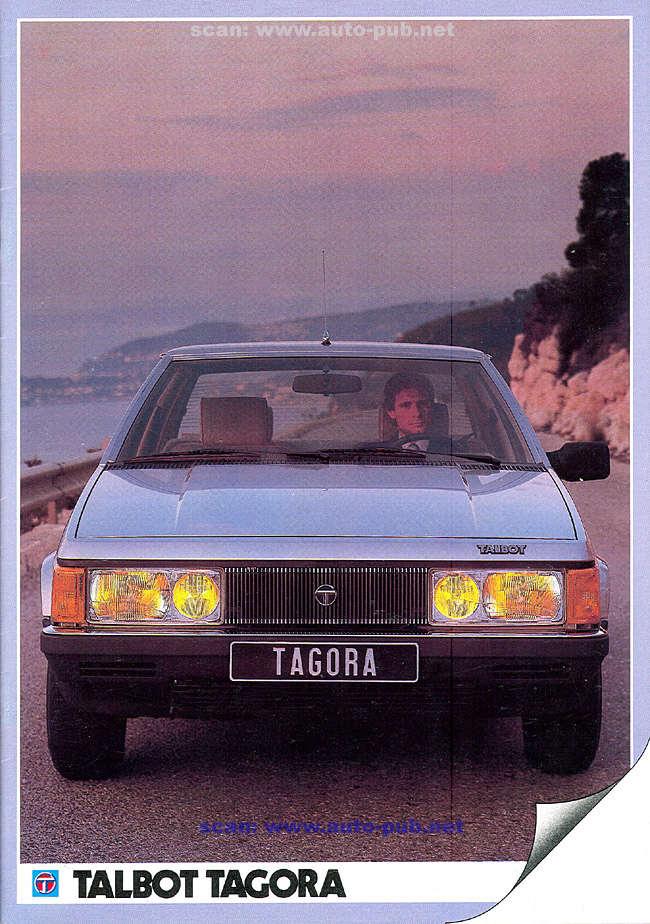 CATALOGO TALBOT TAGORA AÑO 1982 EN FRANCES  Tagora12