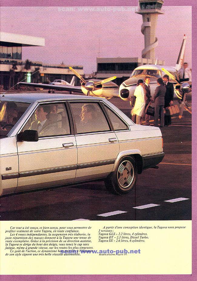 CATALOGO TALBOT TAGORA AÑO 1982 EN FRANCES  Tagora14