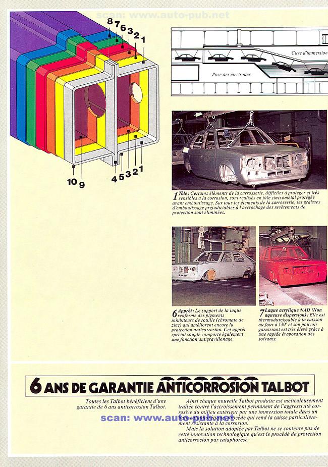CATALOGO TALBOT TAGORA AÑO 1982 EN FRANCES  Tagora23
