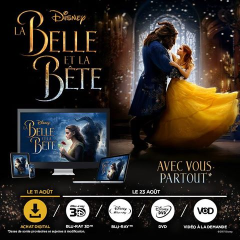 [BD 3D + BD + DVD] La Belle et la Bête (23 août 2017) - Page 2 18342510