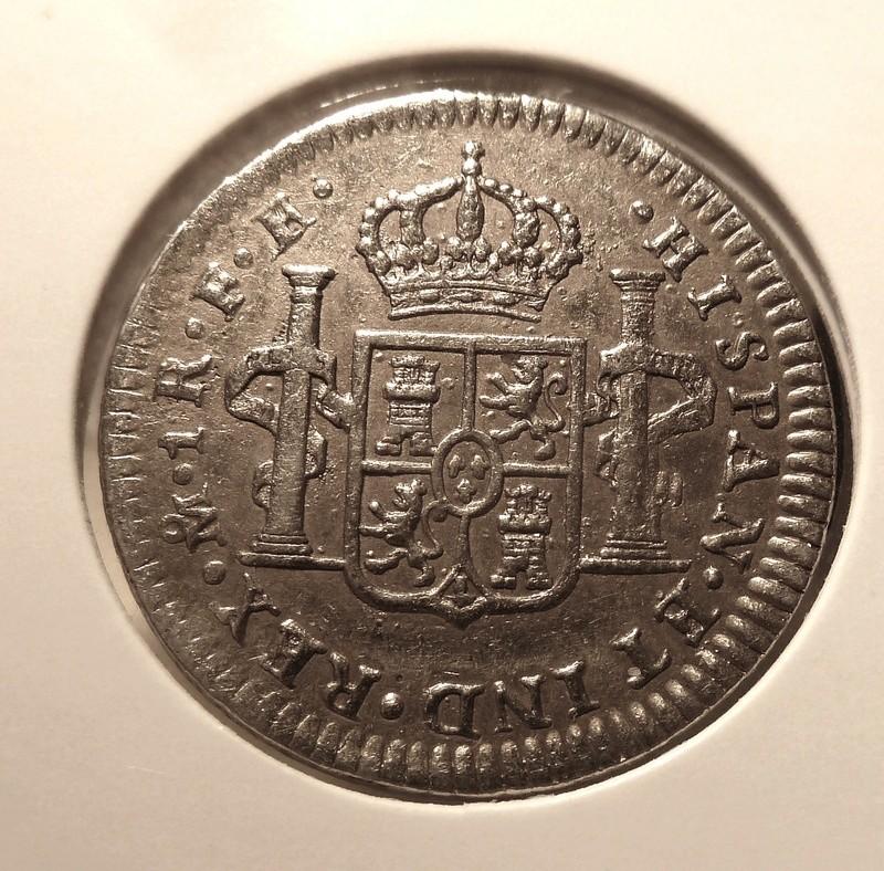 1 real  Carlos III , Ceca de Méjico -1780. P1120513