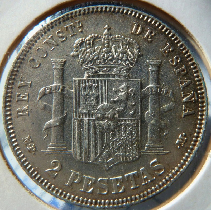 2 pesetas 1889 (*18-89). Alfonso XIII P1120524