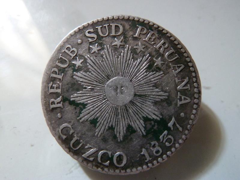 República Sud Peruana.  2 Reales de 1837. P1120619