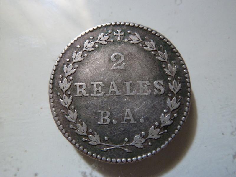 República Sud Peruana.  2 Reales de 1837. P1120620