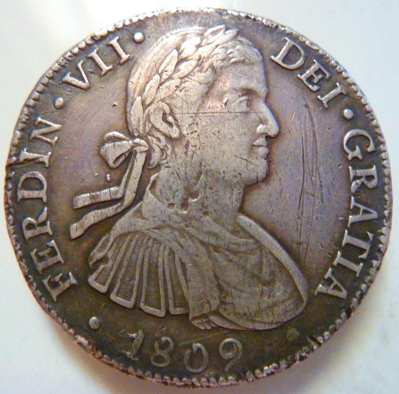 8 reales 1809. Fernando VII. México (HJ) P1120711