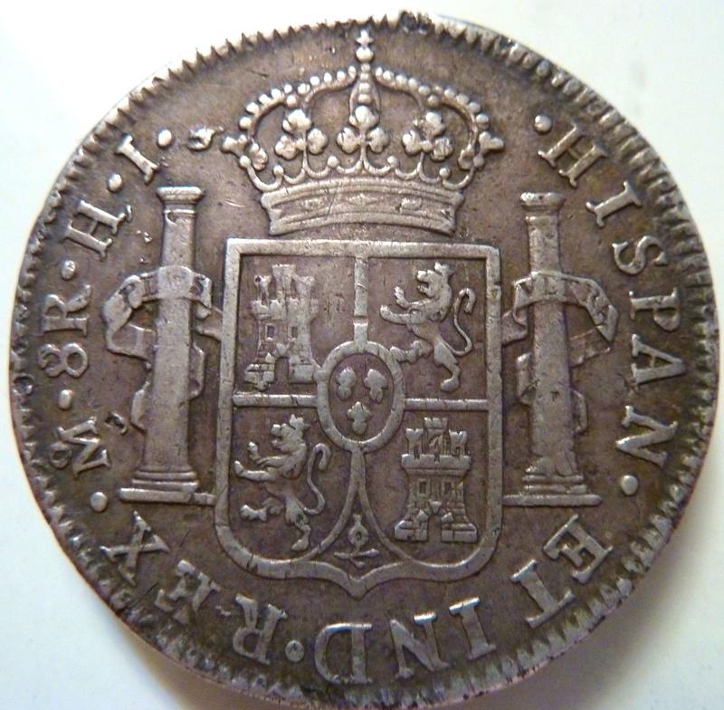 8 reales 1809. Fernando VII. México (HJ) P1120716