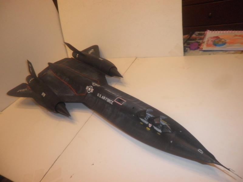 SR-71 Blackbird 1/48 Italeri/Testors P1010033