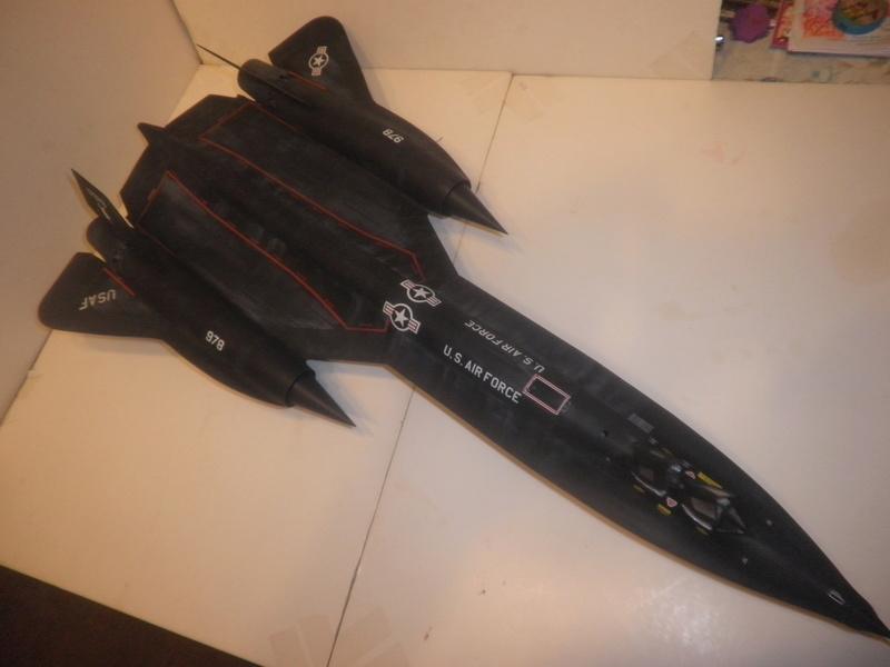 SR-71 Blackbird 1/48 Italeri/Testors P1010035