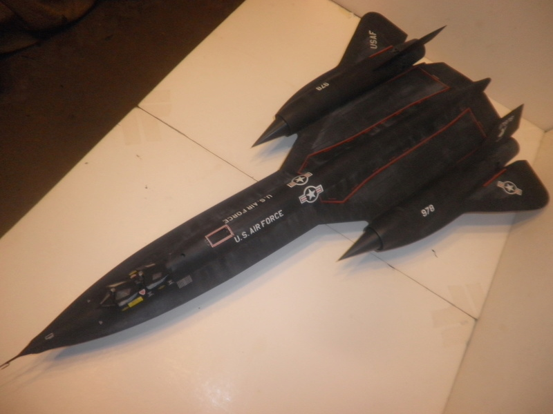 SR-71 Blackbird 1/48 Italeri/Testors P1010038