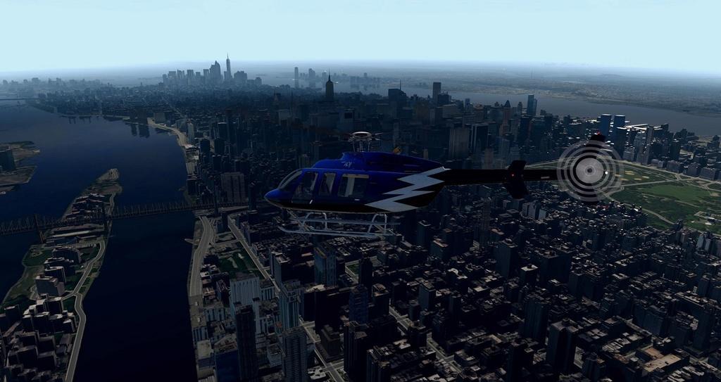 [XP11] Tour por Manhattan de Bell 407 1010