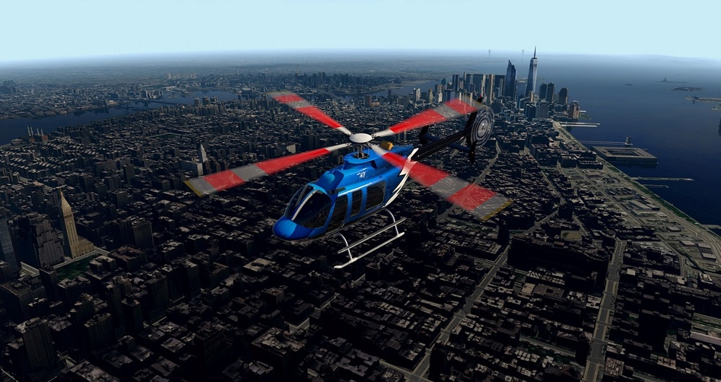 [XP11] Tour por Manhattan de Bell 407 110
