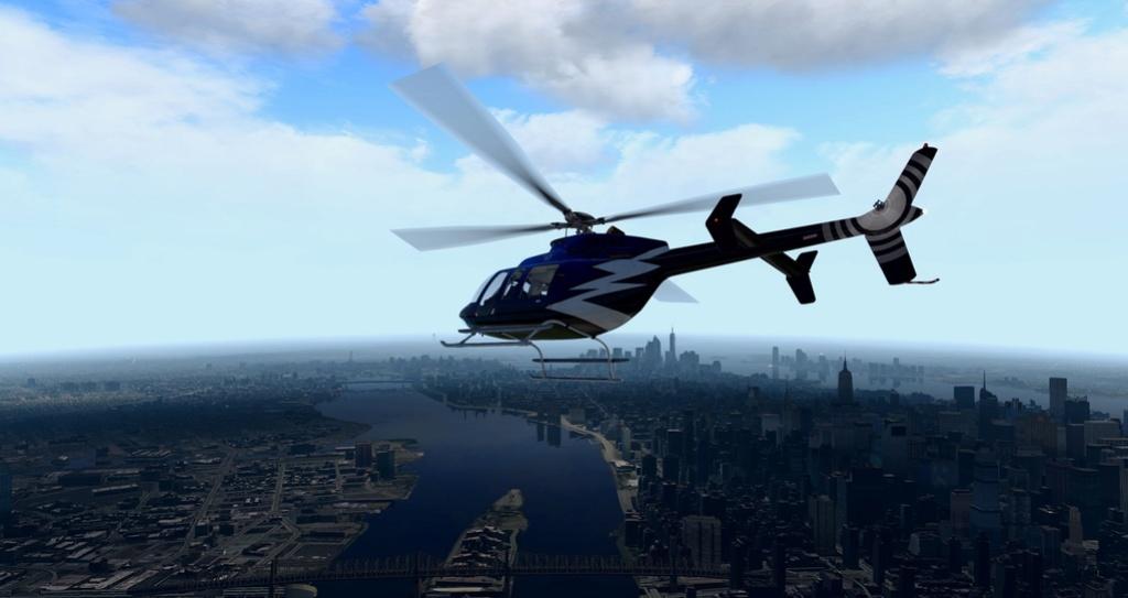 [XP11] Tour por Manhattan de Bell 407 1110