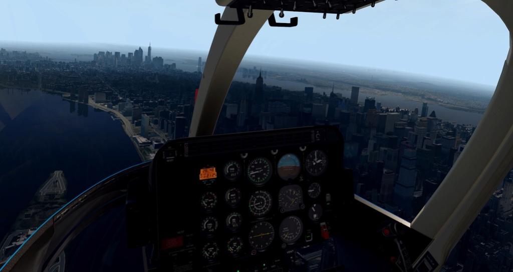 [XP11] Tour por Manhattan de Bell 407 1210