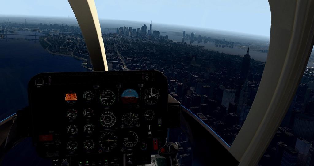 [XP11] Tour por Manhattan de Bell 407 1410