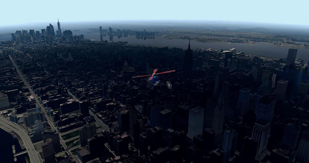 [XP11] Tour por Manhattan de Bell 407 1510