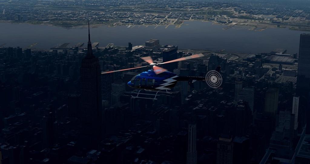 [XP11] Tour por Manhattan de Bell 407 1610