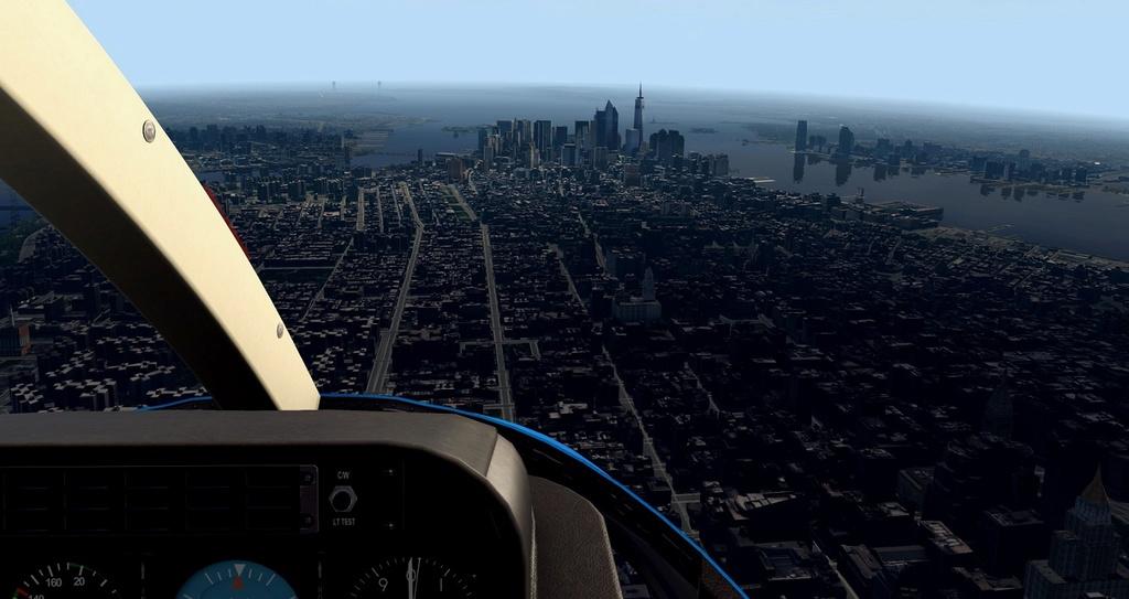 [XP11] Tour por Manhattan de Bell 407 1710