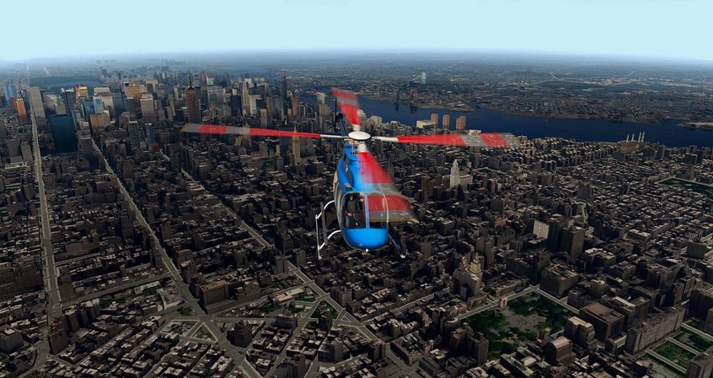 [XP11] Tour por Manhattan de Bell 407 1810