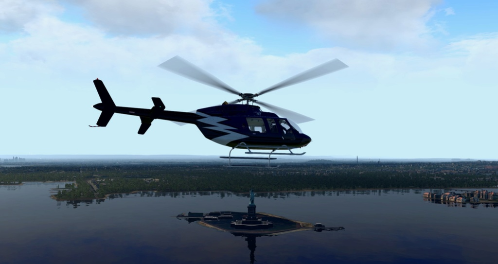 [XP11] Tour por Manhattan de Bell 407 2010