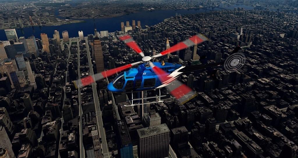[XP11] Tour por Manhattan de Bell 407 210