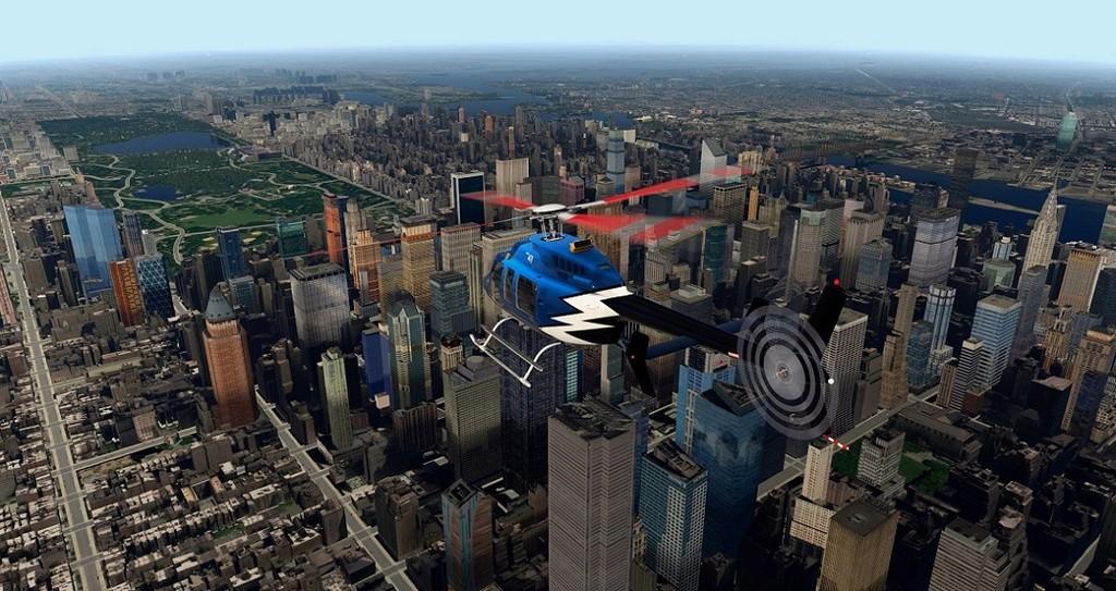 [XP11] Tour por Manhattan de Bell 407 310