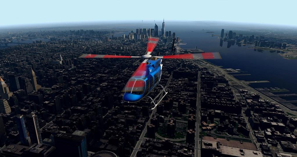 [XP11] Tour por Manhattan de Bell 407 410