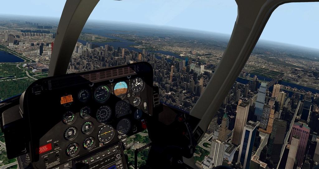 [XP11] Tour por Manhattan de Bell 407 510