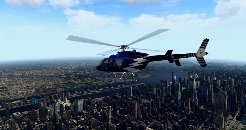 [XP11] Tour por Manhattan de Bell 407 610