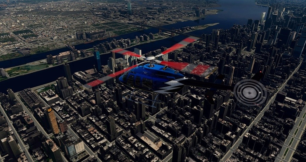 [XP11] Tour por Manhattan de Bell 407 710