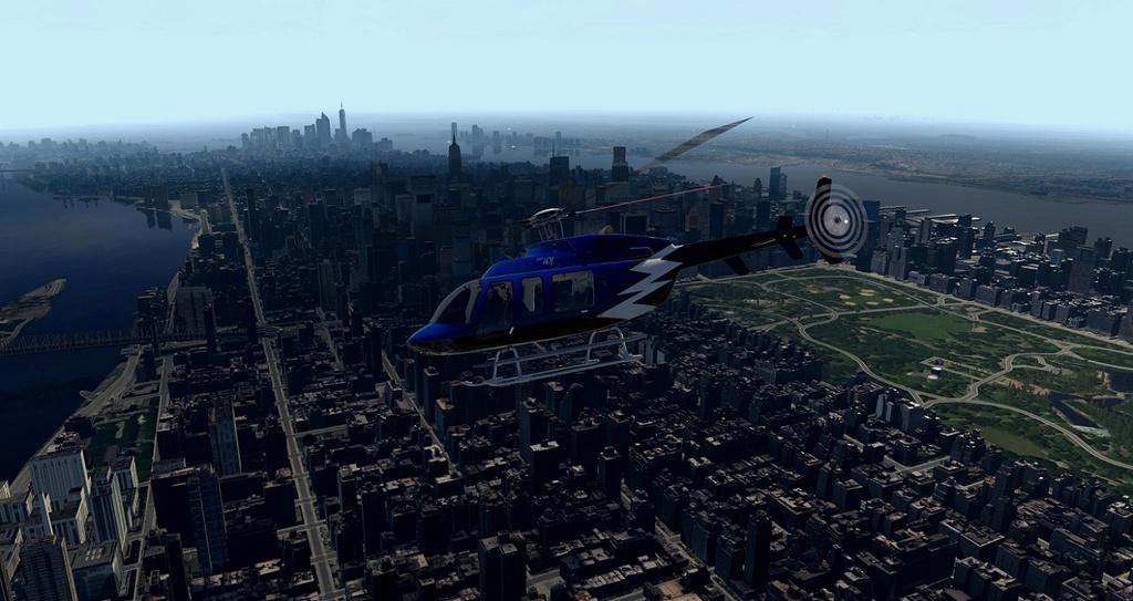 [XP11] Tour por Manhattan de Bell 407 810