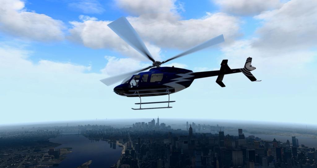 [XP11] Tour por Manhattan de Bell 407 910