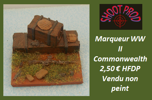 Wargame Marqueur Commonwealth 1k10