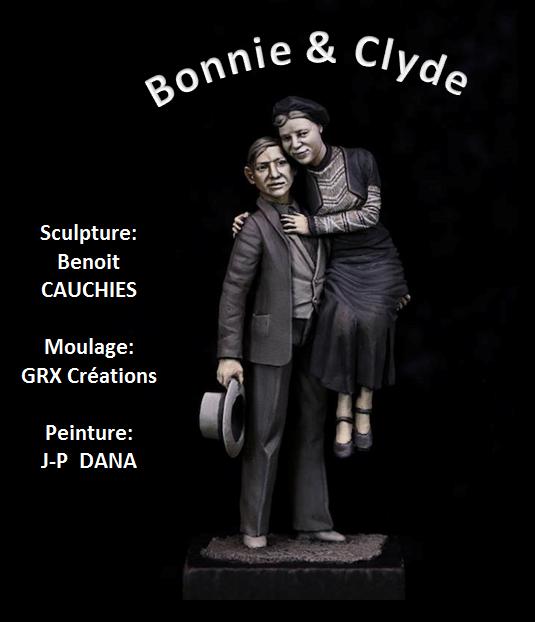 Bonnie & Clyde Postca10