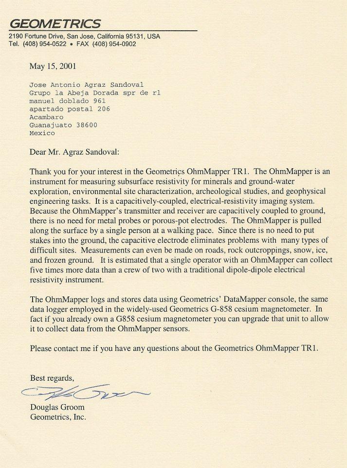 Colección de cartas empresas detección 40415611