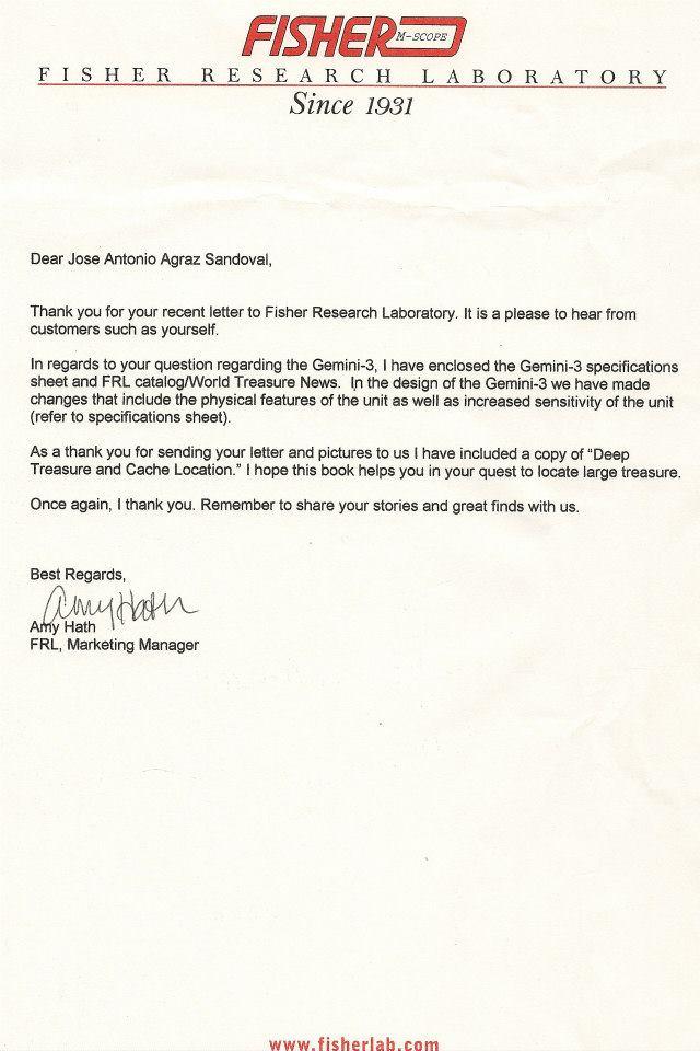 Colección de cartas empresas detección 42172011