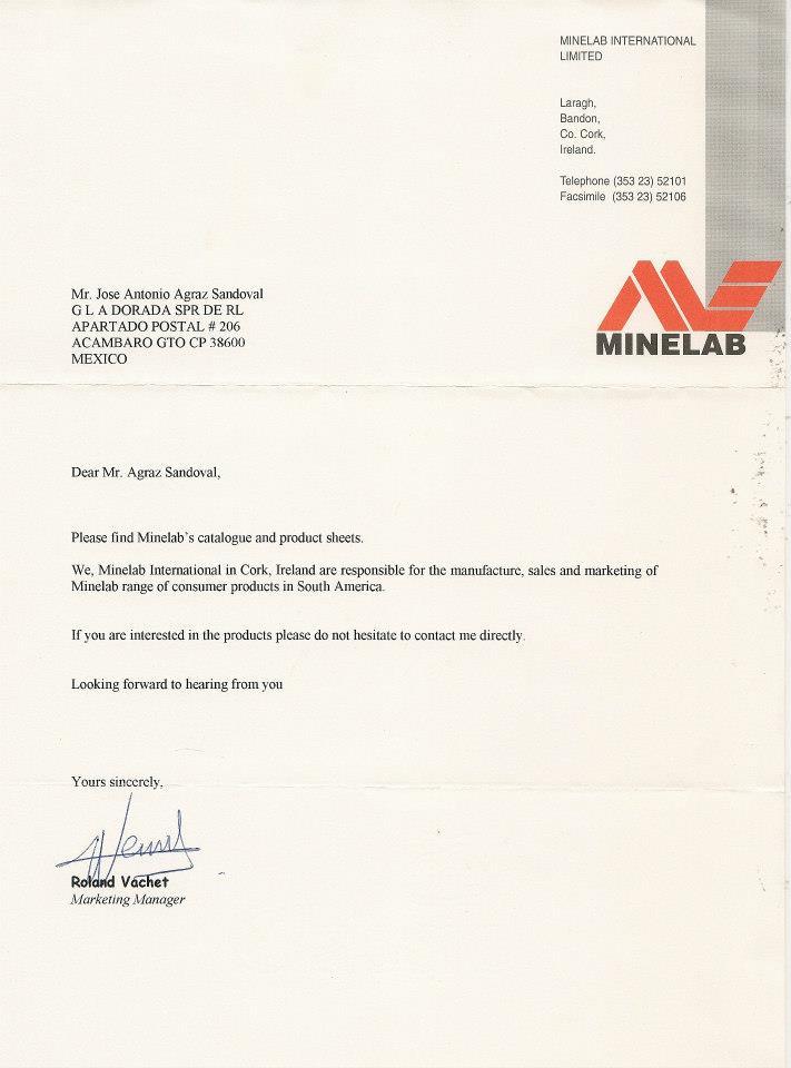 Colección de cartas empresas detección 42292411