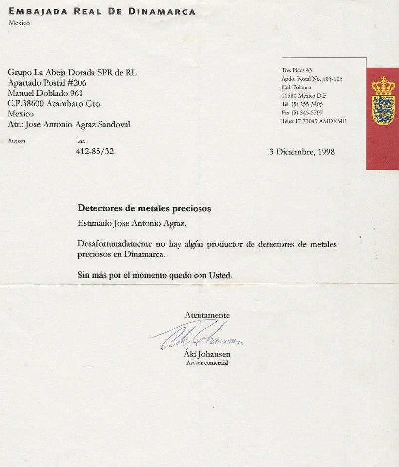 Colección de cartas empresas detección 55747211