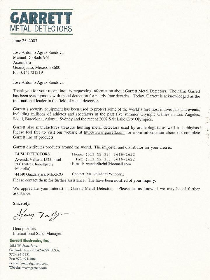 Colección de cartas empresas detección 56300111
