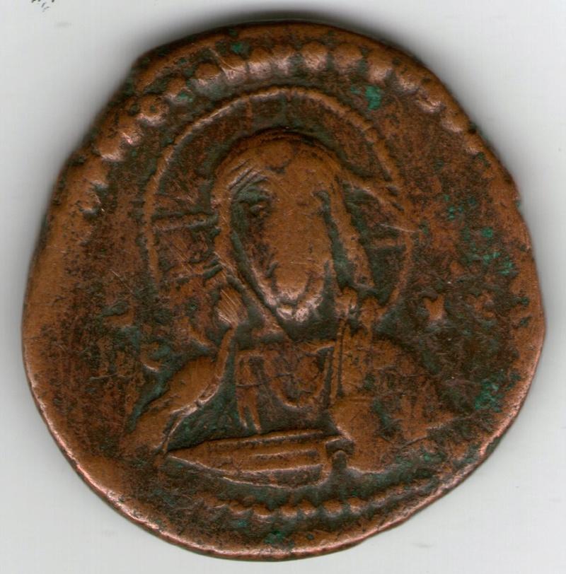 Follis anónimo atribuido al reinado de Romano IV Smg_7611