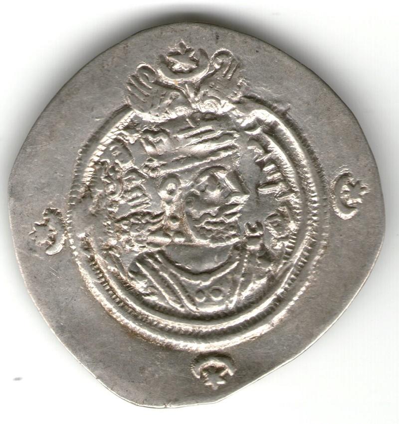KHUSRO II. Sasánida 625-6 Smg_7710
