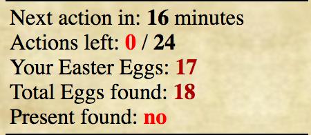 Missing Egg Screen14