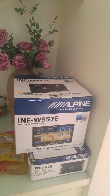 Alpine ine w957e head unit 20170310