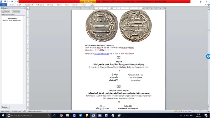 Programa para clasificar monedas Captur10
