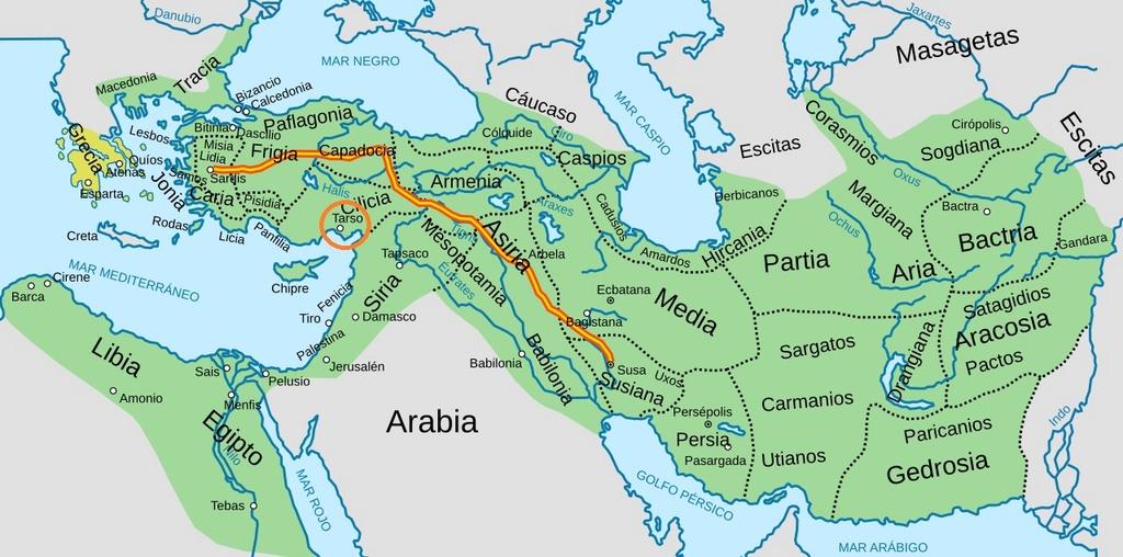 Estátera de Cilicia acuñada por el sátrapa Maceo (361-334 a.n.e.) Imperi11